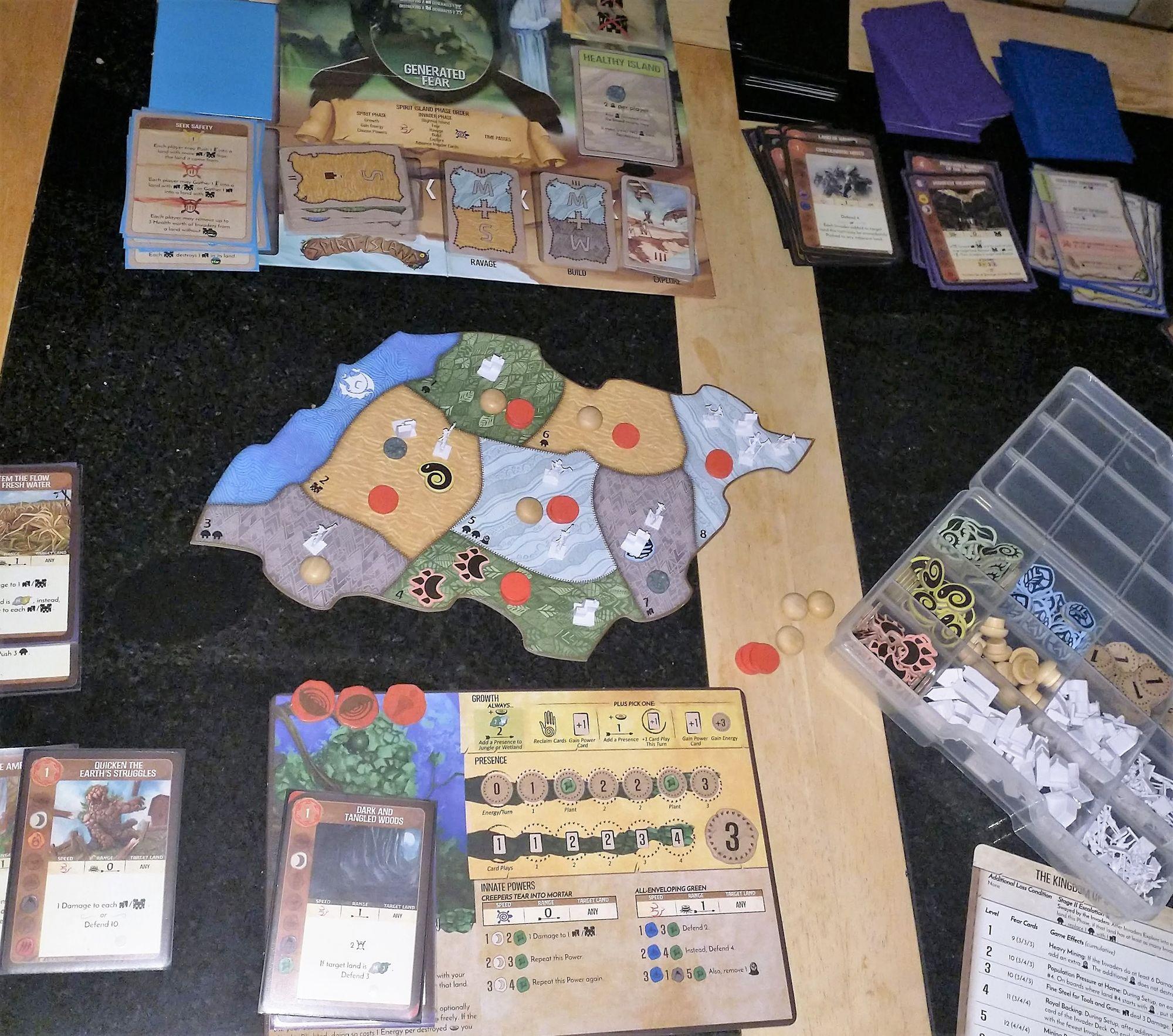 Spirit Island - My favourite game